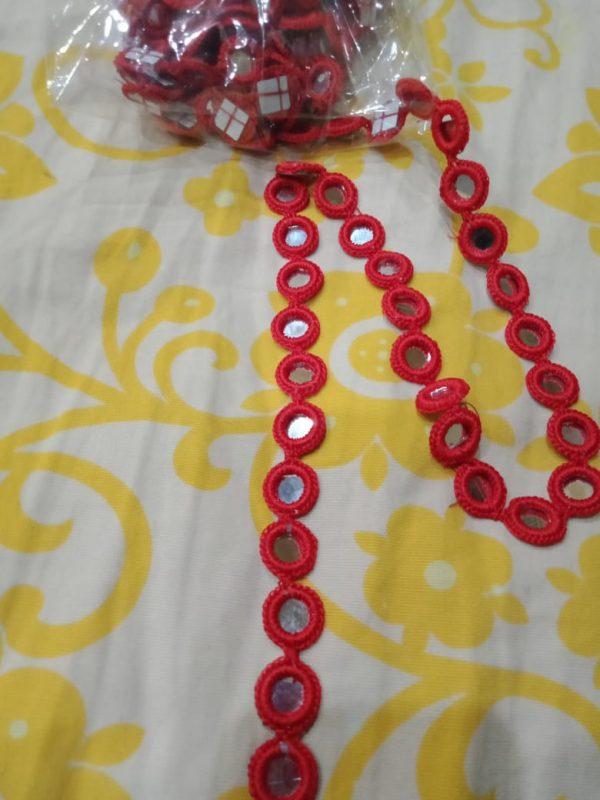 Crochet ring lace